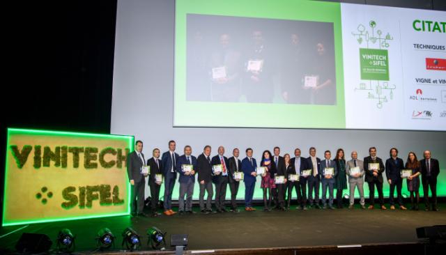 Trophées de l'Innovation - Remise des prix - Citation - Vinitech Sifel 2018
